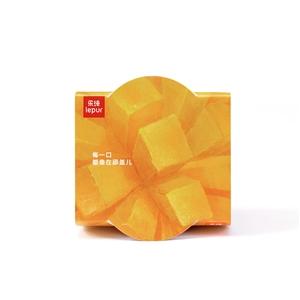 乐纯芒果菠萝三三三倍风味发酵乳135g 芒果口味,热带风情的酸奶